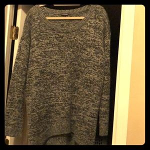 Express comfy long sleeve sweater.